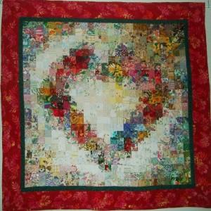 Een hart vol bloemen 110x110 2006